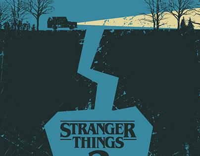 Stranger Things 2 - Minimalist Poster