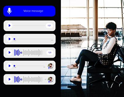 Voice Message Sample components