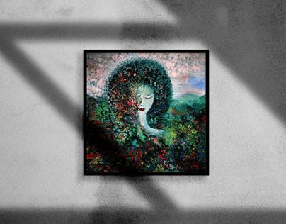 Beautiful Oil Painting Art
