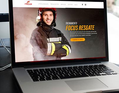 Criação de Website - Focus Regate