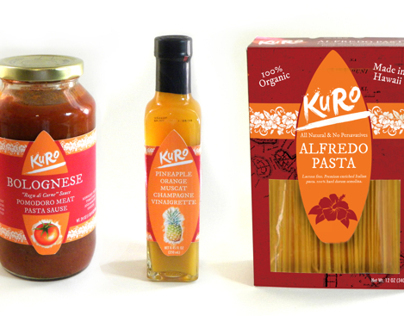 Kuro Food Line Packaging