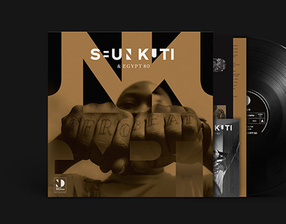 Seun Kuti & Egypt 80 (2020 Record Sleeve/Tour Graphics)