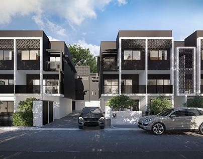 Exterior rendering in Australia