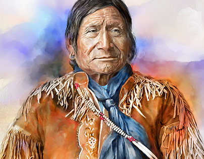 """Chief Red Crow"", 2019"