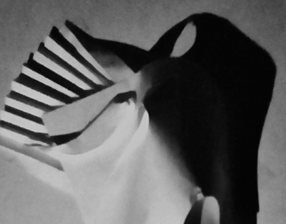 THEATRICAL PAPER MASK