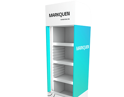 MARKQUEN Cooler for promo events.