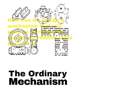 The Ordinary Mechanism