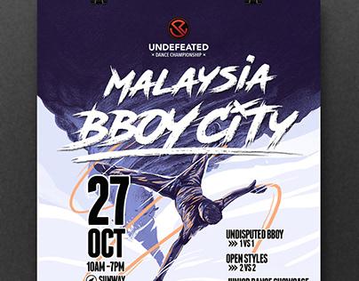 Undefeated Dance Championship X Malaysia Bboycity 2018