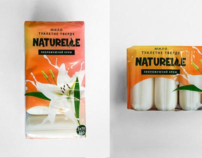 Naturelle Soap Packaging Design