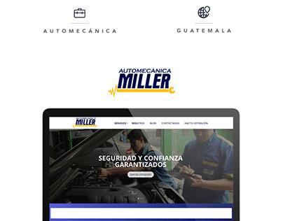 Automecánica Miller - Website