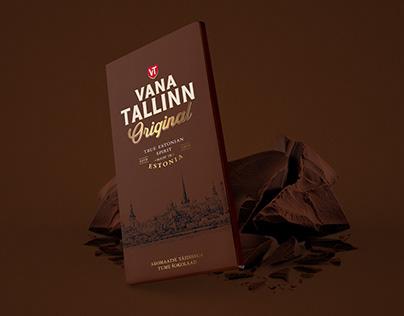 Vana Tallinn chocolate