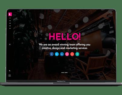 Klamath - Creative Portfolio WordPress Theme