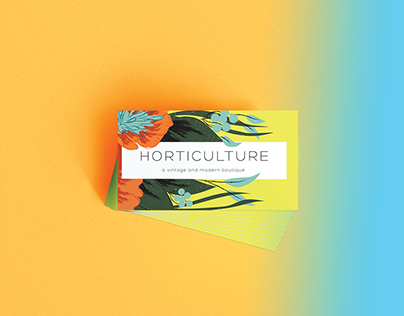 Horticulture Business Card