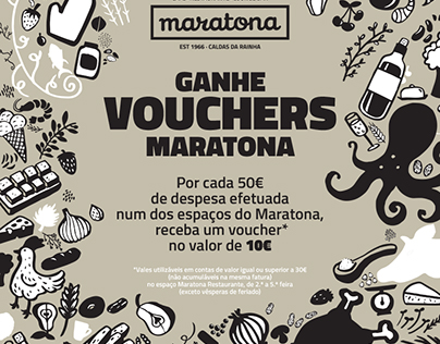 Visual Identity - Maratona Café-Restaurante-Lounge Bar