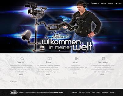 Website Photomaestro for photogrph. Dejan Mihajliović
