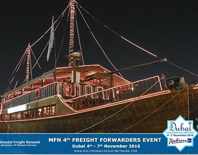 MFN Dubai 2016 Freight Forwarders Event ( dinner )