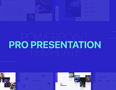 Pro Presentation - Powerpoint Template