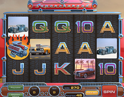 V8 Supercharged slot game