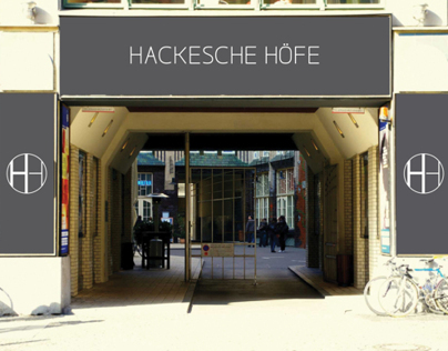 Hackesche Höfe - Corporate Identity