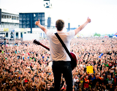 The Subways live at Rock am Ring, Germany