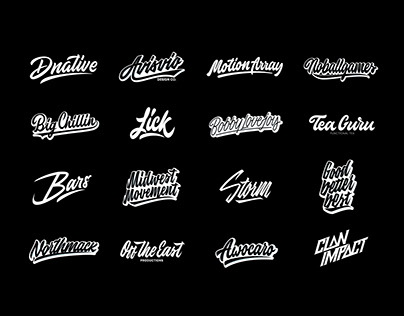 Lettering Logos Collection Vol. 4