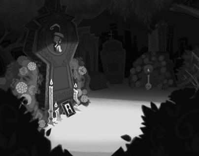 Danza de los Muertos Layouts and Concept