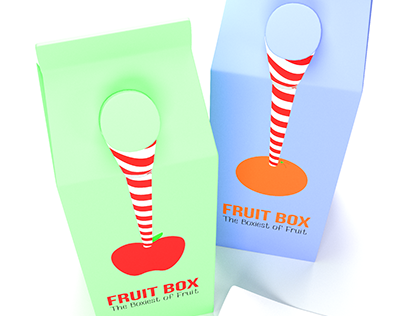 Fruit Box Render