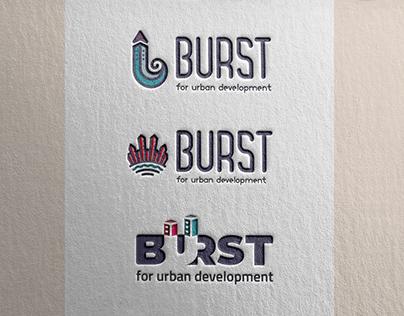 Burst - logo presentation