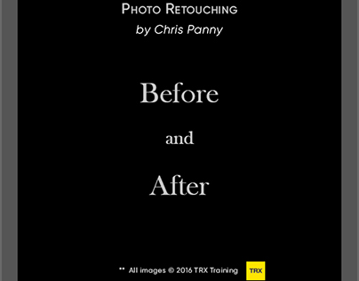 Image Retouch for TRX Training