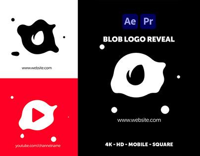 Blob Logo Reveal