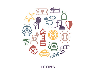 icons for Carlsbad