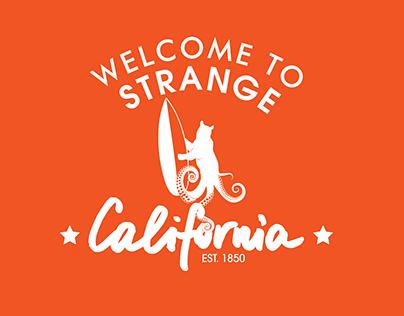 Strange California Logo and Kickstarter Marketing Tools