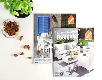 Koçtaş Bahçe-Mobilya Katalog Tasarımı - 2015.