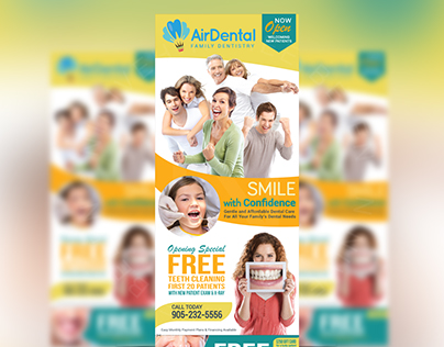 Business / Marketing Flyers for AirDental