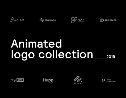 Animated logo collection | 2019