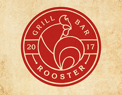Logotype ROOSTER (GRILL BAR)