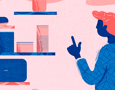 Series of Editorial Illustrations for INDIGO Journal