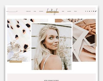 Blog & Shop Theme