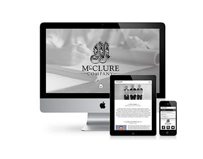 The McClure Company Website Design