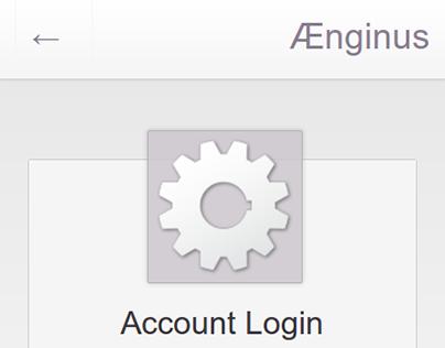Ænginus Content Management System