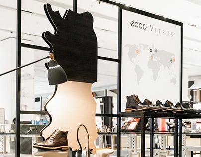 Pop-up Store Ecco Vitrus