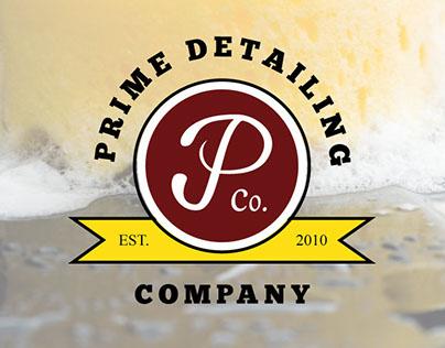 Prime Detailing Company Logo