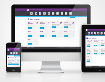 XO Interactive Service Portal UI
