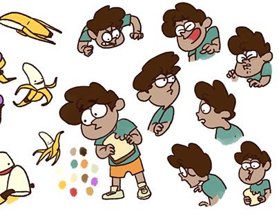 Bananan! - Storyboarding/Concept Design