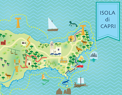 Capri map