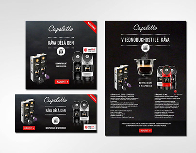 Capsletto newsletter, banner