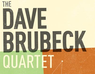 Dave Brubeck Quartet Poster