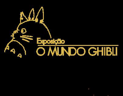 Material para exposição fictícia O Mundo Ghibli