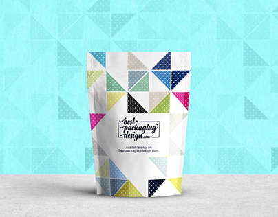 Standing Pouch Psd Mockup
