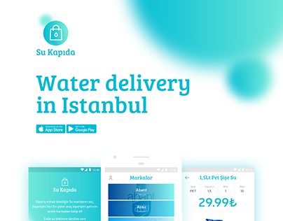 Su Kapıda. Water delivery in Istanbul